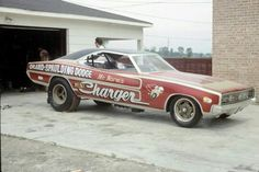 "Mr. Norms ""Grand Spalding Dodge"" Charger Funny Car Drag Racing, Nhra Drag Racing, Funny Cars, 1968 Dodge Charger, Plymouth Cars, Old Race Cars, Vintage Race Car, Drag Cars, Car Humor"