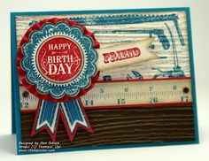 The Stampin' Schach: A Blue Ribbon Tool Shed for The Paper Players