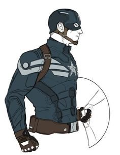 Captain America: The Winter Soldier concepts by Kris Anka