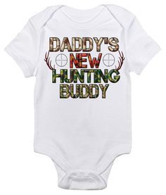 The Hunting Baby Bodysuit That Wins The Hearts of All. Out with the boring bodysuit! Rapunzie onesies feature witty and charming sayings and illustrations to bring out the fun in your baby's wardrobe.