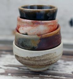 brooklyn pottery: Whether its Brooklyn, The Bronx, Staten Island, the Village or from Cali, I love earthen bowls with interesting glaze applications, especially if they have lids or are ironware.