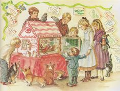 Valentine's Day Traditions Gift Guide - Tasha Tudor and Family