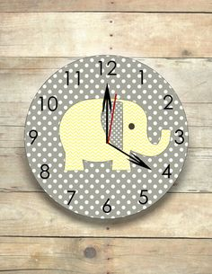 Popular items for nursery clock on Etsy