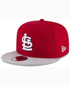 d1d70083130 New Era St. Louis Cardinals Heather Vize Snapback Cap Men - Sports Fan Shop  By Lids - Macy s