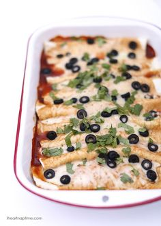 Beef enchiladas recipe -loaded with a delicious cheesy meat filling. They are easy, cheesy and delicious! from @iheartnaptime