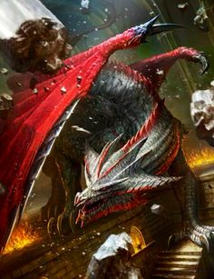 Dragon demoledor Legend of the cryptids