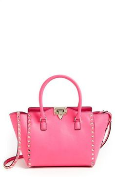 026e6c9a87 Valentino  Rockstud - Small  Double Handle Tote available at  Nordstrom. Oh  I