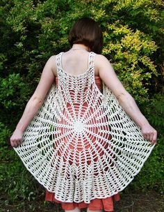 Spider Web Mandala Vest Dress PATTERN Make your by elorascastle