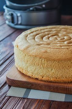 Good Food, Yummy Food, Vanilla Cake, Bakery, Healthy Eating, Cooking, Easy, Desserts, Recipes
