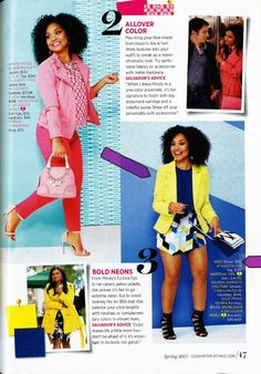 XOXO Yellow Blazer as seen in Cosmo for Latinas Spring 2015 issue!
