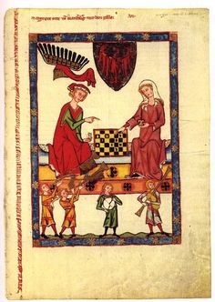 codex manesse | website about women's garb Pic = Manesse Codex garb (Manesse codex ...
