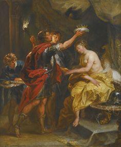 The Athenaeum - Alexander The Great Crowns Roxana (Jan Boeckhorst - )