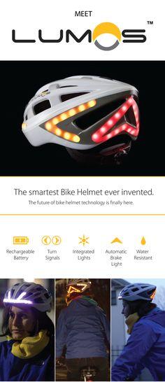 Lumos - A Next Generation Bicycle Helmet by Lumos Helmet — Kickstarter
