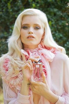 Abbey Lee Kershaw for Flora by Gucci
