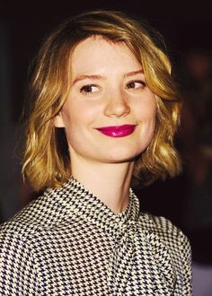 Mia Wasikowska-Alice in Wonderland.
