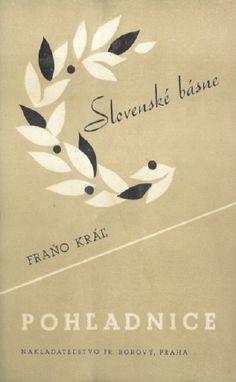 Král Fraňo  Pohladnice    Slovakian avantgarde typo  Fr.Borovy Praha 1936