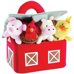 Animal House Barnyard Animals with Sounds Carrier Set Baby Gift | Toddler Gift >>> Be sure to check out this awesome product. (This is an affiliate link)