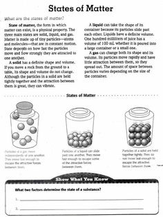 the four comprehension worksheets and states of matter on pinterest. Black Bedroom Furniture Sets. Home Design Ideas