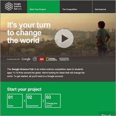 Google Science Fair Seeks Out Next-Gen Scientists, Engineers