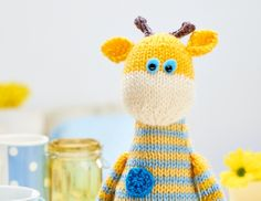 Most giraffes spend a lot of their life standing up but our stripy pal Harry prefers to get comfy when he's resting his eyes. Don't ask us how he gets up, it's his best kept secret! Worked in playful stripes…