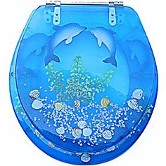 Perfect For Dolphin Sea Life Bathroom A Kid Holiday Gifts Others Pinterest Mermaid And Toilet