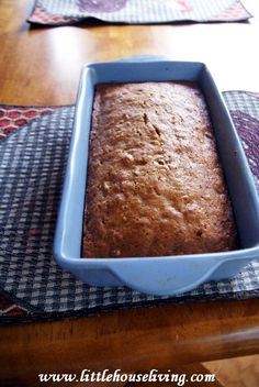 Pumpkin Zucchini Bread. Excellent combo of these 2 garden staples!