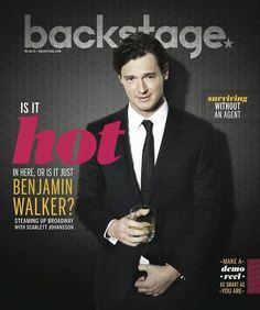 Benjamin Walker is so handsome. Benjamin Walker, Tardis, Scarlett Johansson, Boyfriend, Handsome, Romance, Husband, Hot, Sexy