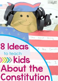 With young kids the Constitution can be a very abstract concept that's hard to understand. Thankfully, it gets covered more than once in most standards. So now that we've covered the why, let's talk about some ideas for how to teach the Constitution.