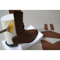 cowboy boot template for fondant - Google Search