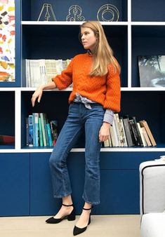 This week we have noticed that we keep craving jumpers in a very specific shade of orange. Click to see and shop!