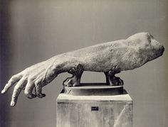 Unidentified arm of the Roman (possibly Hadrianic) variety  Vatican Museum, Rome