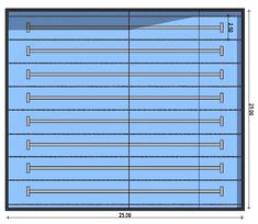 Progetto piscina: ecco la guida definitiva | BibLus-BIM Blinds, Container, Curtains, Home Decor, Aperture, Jalousies, Blind, Interior Design, Draping