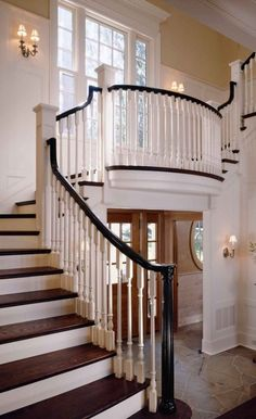 Love the stairs above the entrance