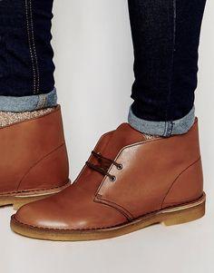 Clarks Original Desert Boots in Brown