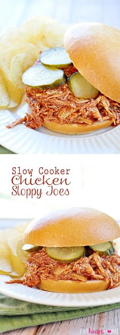 Slow Cooker Sloppy Joe Recipe With Chili Sauce.Slow Cooker Sloppy Joes Recipe Taste Of Home. The Best Slow Cooker Sloppy Joes I've Ever Had Recipe! Slow Cooker Sloppy Joes Sandwich Recipe I Can Cook That. Shredded Chicken Sandwiches, Slow Cooker Shredded Chicken, Easy Crockpot Chicken, Chicken Sandwich Recipes, Shredded Chicken Recipes, Chicken Cooker, Sloppy Joe Recipe With Chili Sauce, Homemade Sloppy Joe Sauce, Sloppy Joes Recipe