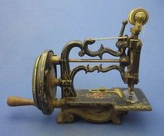 Antique Patented 1861 Charles Raymond New England Hand Painted Sewing Machine   eBay