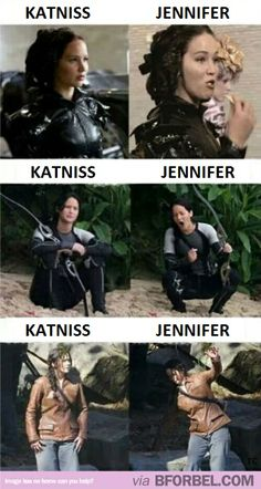 Difference Between Katniss and Jeniffer :)