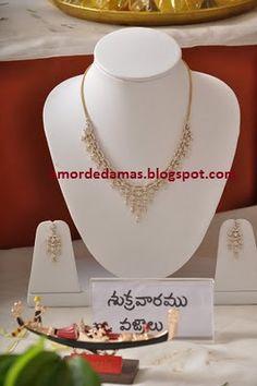 Diamond Jewelry, Gold Jewelry, Jewelery, Gold Necklace, India Jewelry, Corals, Jada, Necklace Designs, Jewelry Collection