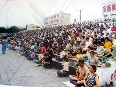 Historic Photos Illustrate How Widely Falun Dafa Was Practiced in Harbin City Before the Persecution | Falun Dafa - Minghui.org