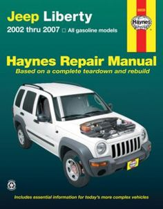 Jeep Liberty Haynes Repair Manual 2002-2007: Complete coverage for your Jeep Liberty covering all models… #CarParts #AutoParts #TruckParts