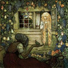 ilustraciones antiguas de cuentos infantiles - Buscar con Google