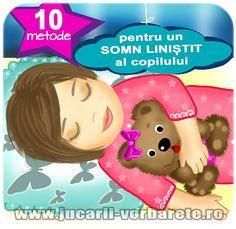 10 metode pentru un somn linistit al copilului