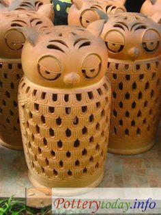 Owl lamps Pinned by www.myowlbarn.com