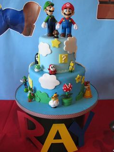 Super Mario Brothers Birthday Party Ideas | Photo 1 of 14 | Catch My Party