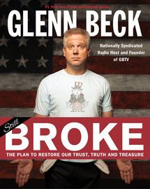 Broke | http://paperloveanddreams.com/book/382968019/broke | THE FACTS. THE FUTURE. THE FIGHT TO FIX AMERICA� BEFORE IT�S TOO LATE. In the words of Harvard economist Niall Ferguson, the United States is �an empire on the edge of chaos.� Why? Glenn Beck thinks the answer is pretty simple: Because we�ve turned our backs on the Constitution. Yes, our country is financially broke, but that�s just a side effect of our broken spirit, our broken faith in government, the broken promises by our…