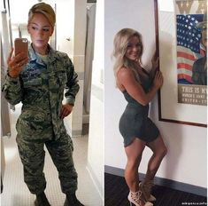 69 Stunning Army Women With & Without Uniform Looking Hot - - Women in Uniform Female Soldier, Female Marines, Army Soldier, Military Girl, Bd Comics, Girls Uniforms, Military Women, Pin Up, Gorgeous Women