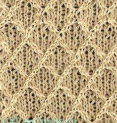 Knitting Stitch Dictionary*Sweater Pattern Generator*Knitting Reference