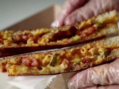 Get Grilled Pimento Mac n Cheese Recipe from Food Network