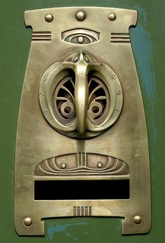 Art Nouveau Doorhandle by Gabó