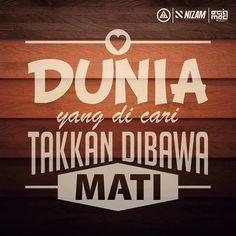 #StikerDakwah #islamicquotes #art #typography #corelDRAW  #NizamCS Self Reminder, Islamic Quotes, Typography, House Design, Coreldraw, Design Ideas, Homes, Instagram, Poster